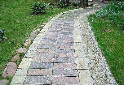 Вибір каменю для мощення доріжок