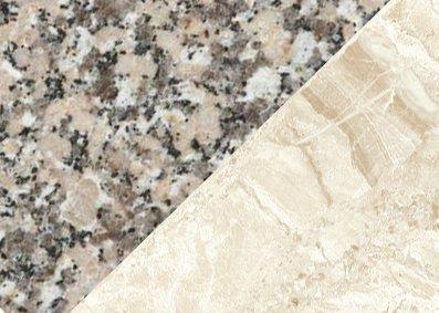 Яка різниця між гранітом та мармуром?
